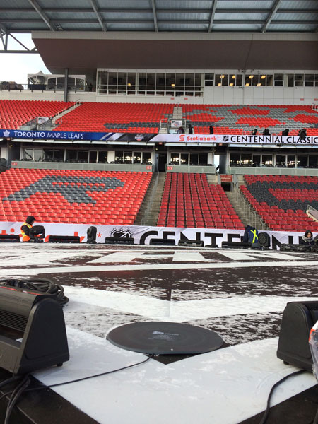 NHL Outdoor Classic Wireless Frequency Coordination - Zimbel Audio Productions
